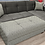 Thumbnail: Tahoe Melson Dark Gray Sectional Sofa Bed with Storage