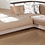 Thumbnail: Moon Troya Brown Sectional Sofa