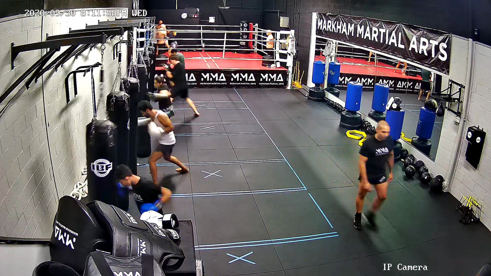 Boxing Class at MMA
