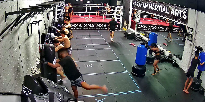 Muay Thai Skip Knees