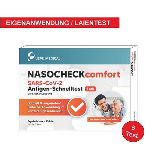 Lepu Laientest NASOCHECKcomfort  5 Stück.