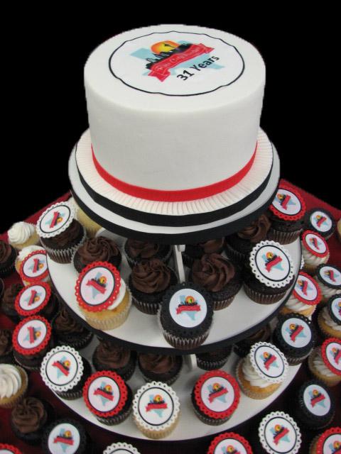 RCP Cupcake Tower