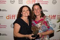 Danielle-Rachel-with-Award-for-Best-Docu