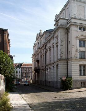 Dernière phase Ville Conviviale rue du Manège à Verviers