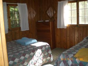 Cabin 10 - bedroom 1.JPG