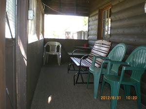 Cabin 10 - screened porch.JPG