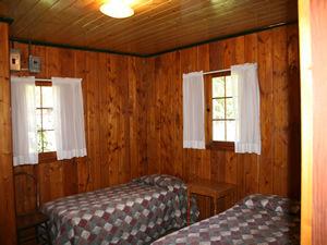 Cabin 9 - bedroom 1.JPG