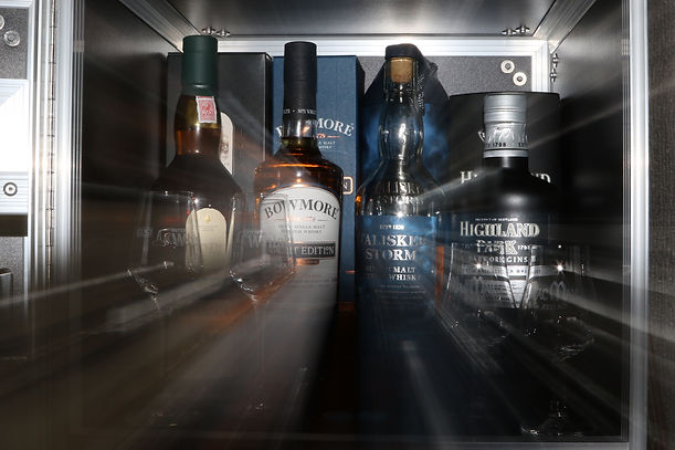Heimische Whisky Auswahl