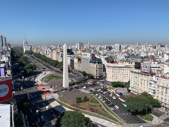 Ausblick Dachterasse Panamericano