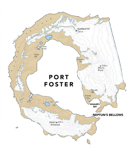 Deception Island Map