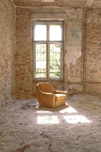 Sessel im Fenster