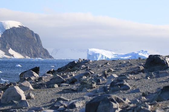 Blick von Danco Island