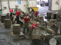 Arbeitsbereich Fassherstellung