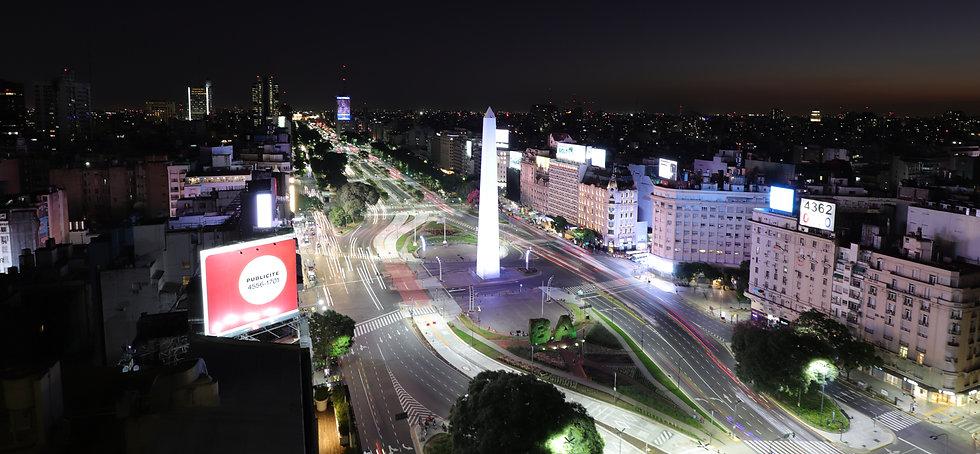 Buenos Aires, Obelisk bei Nacht