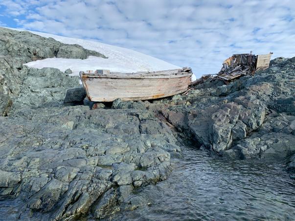 Walfänger Versorgungsboote