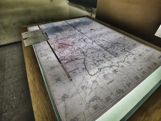Landkarte Führungsreferat ABC-Abwehr