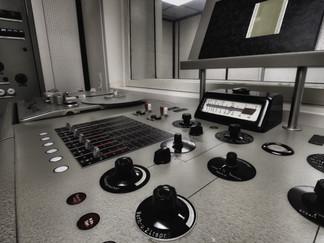 Bedienpult Radiostudio