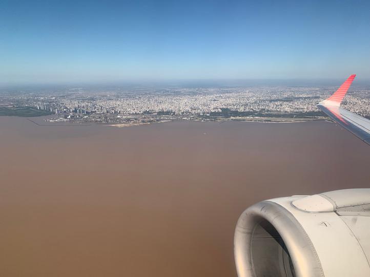 Anblick der Hauptstadt Argentiniens
