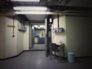 Flur Bunkerzugang