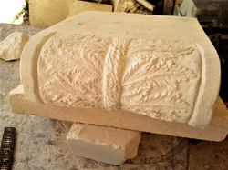 Capitel-talla-piedra-artesania- piedra c