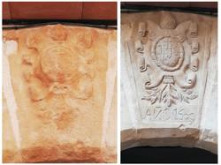 Restauración- Clave-piedra-artesanía-tal