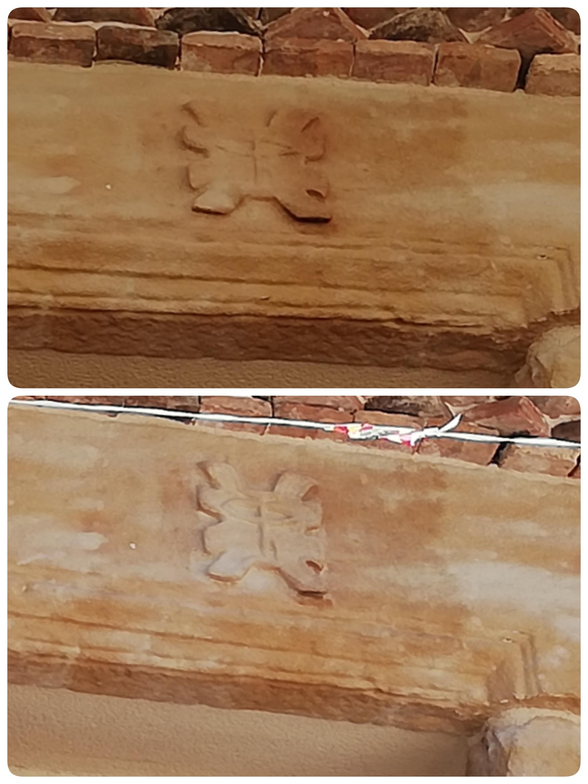 Detalle balcón- piedra-artesanía-talla-