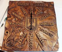 Reloj- madera-artesania-talla-madera