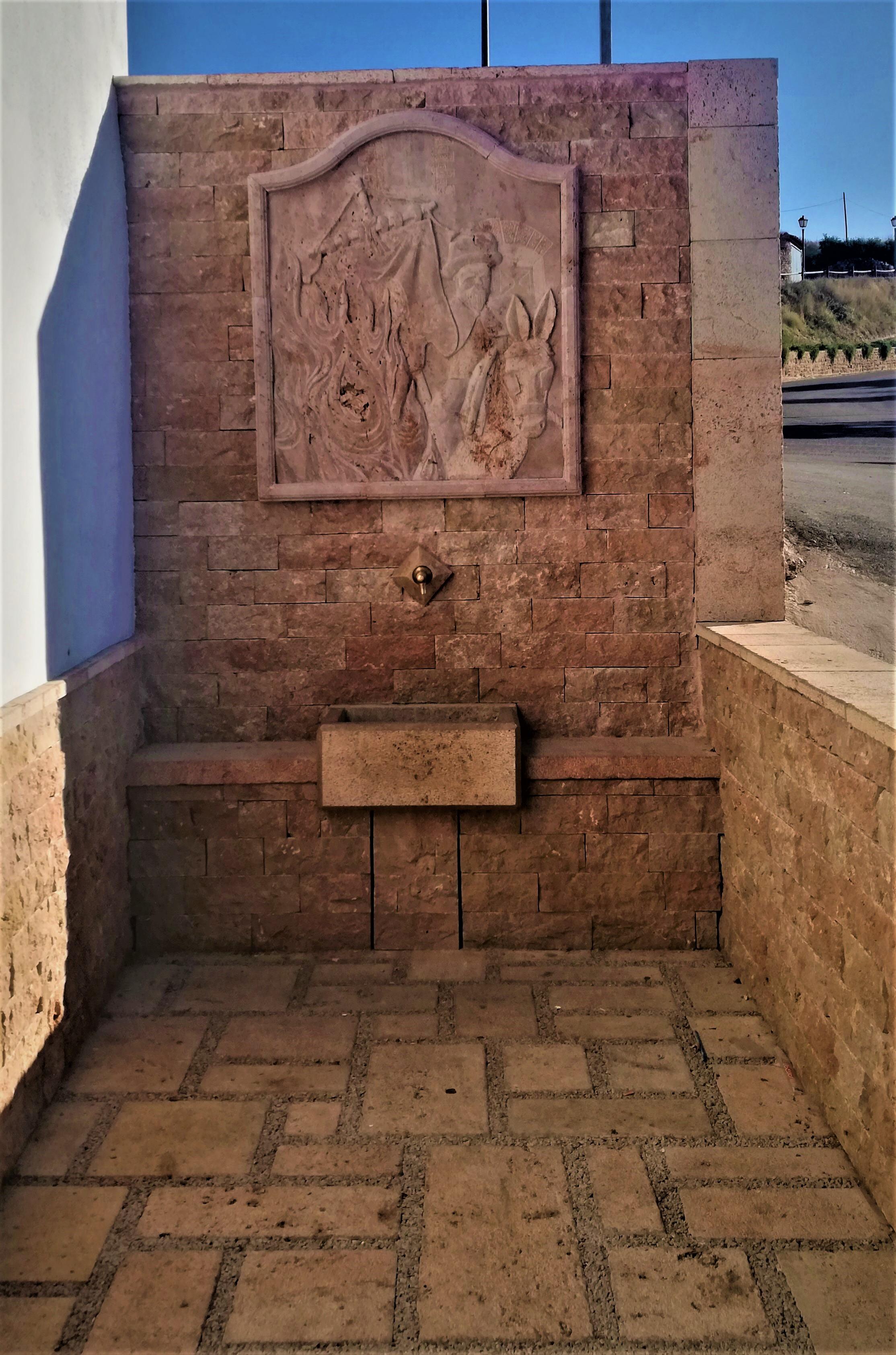 Fuente encamisada-Estercuel-piedra-artes