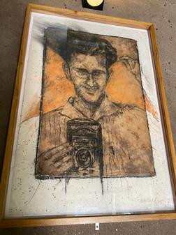 Photographic self-portrait of Pedro Cortés