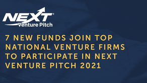 NEXT Venture Pitch Expands List of Top National Venture Firms to Participate in 2021 Event