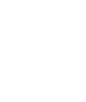 """White logo with conjoined """"V"""" and """"A"""" with small white star and """"Venture Atlanta"""" text underneath"""