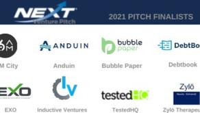 NEXT Venture Pitch Announces 8 Pitch Finalists to Participate in NEXT Venture Pitch 2021