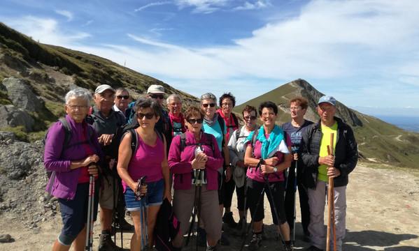 Le groupe au pied du Sancy
