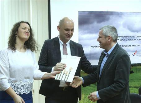 Potpisivanje ugovora iz Programa ruralnog razvoja
