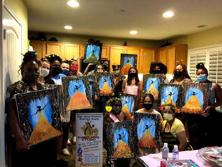 Our latest Paint N Sip Party
