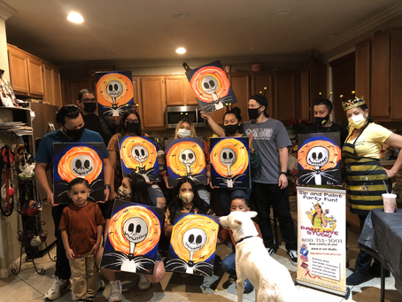 Halloween Sip And Paint Party