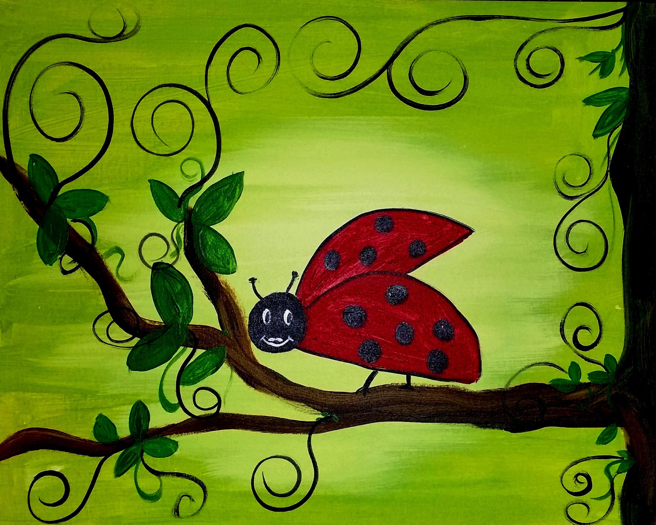 Whimsical Lady Bug