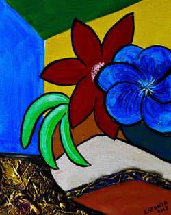 Southwest Blooms - SOLD