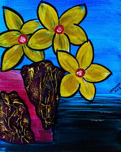 Butter Flowers - SOLD