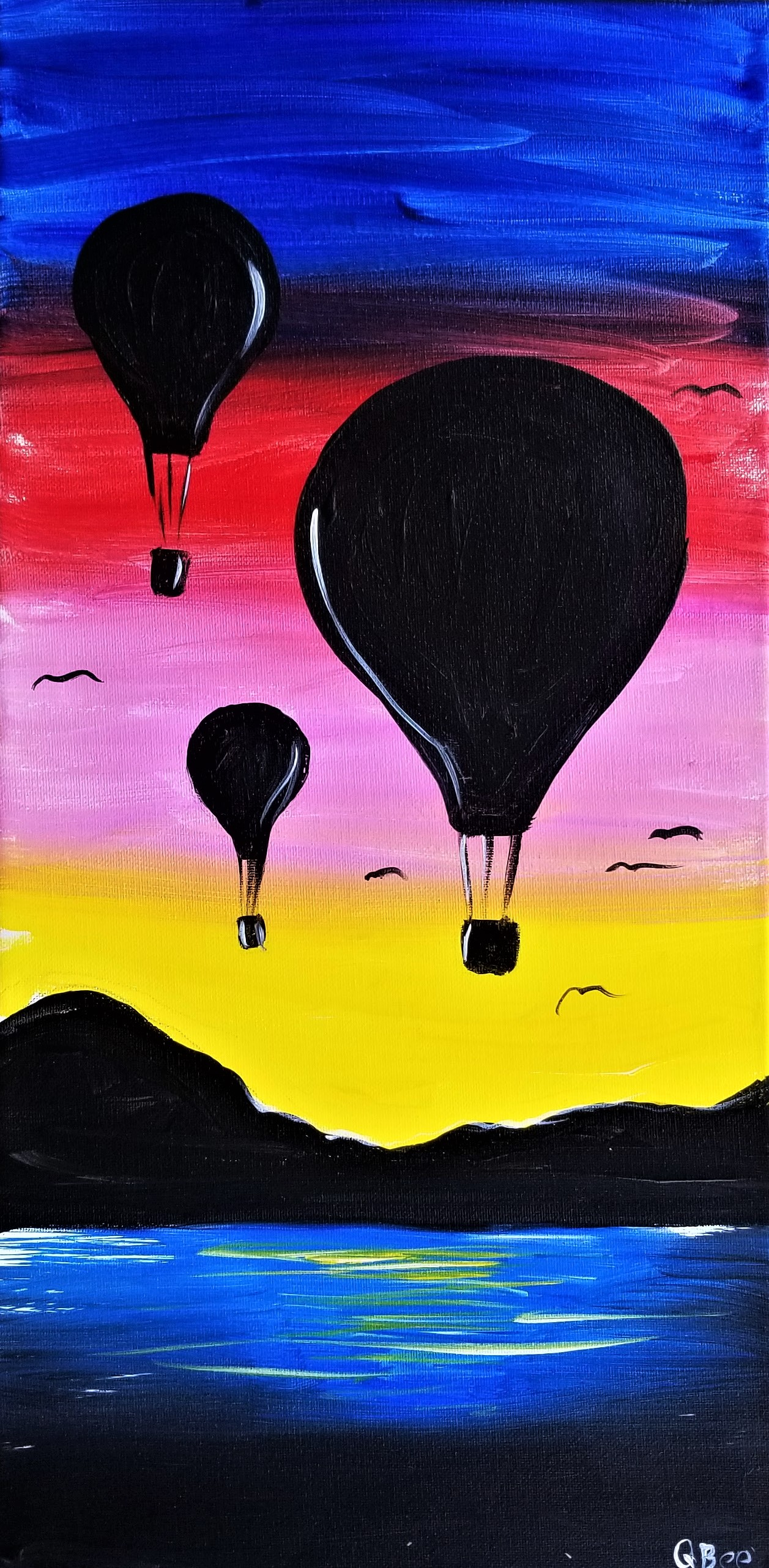 Balloon Ride Sunset