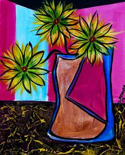 Window Flowers - SOLD