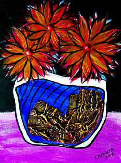 Blue Pot - SOLD