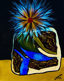 Cool Night Bloom -SOLD