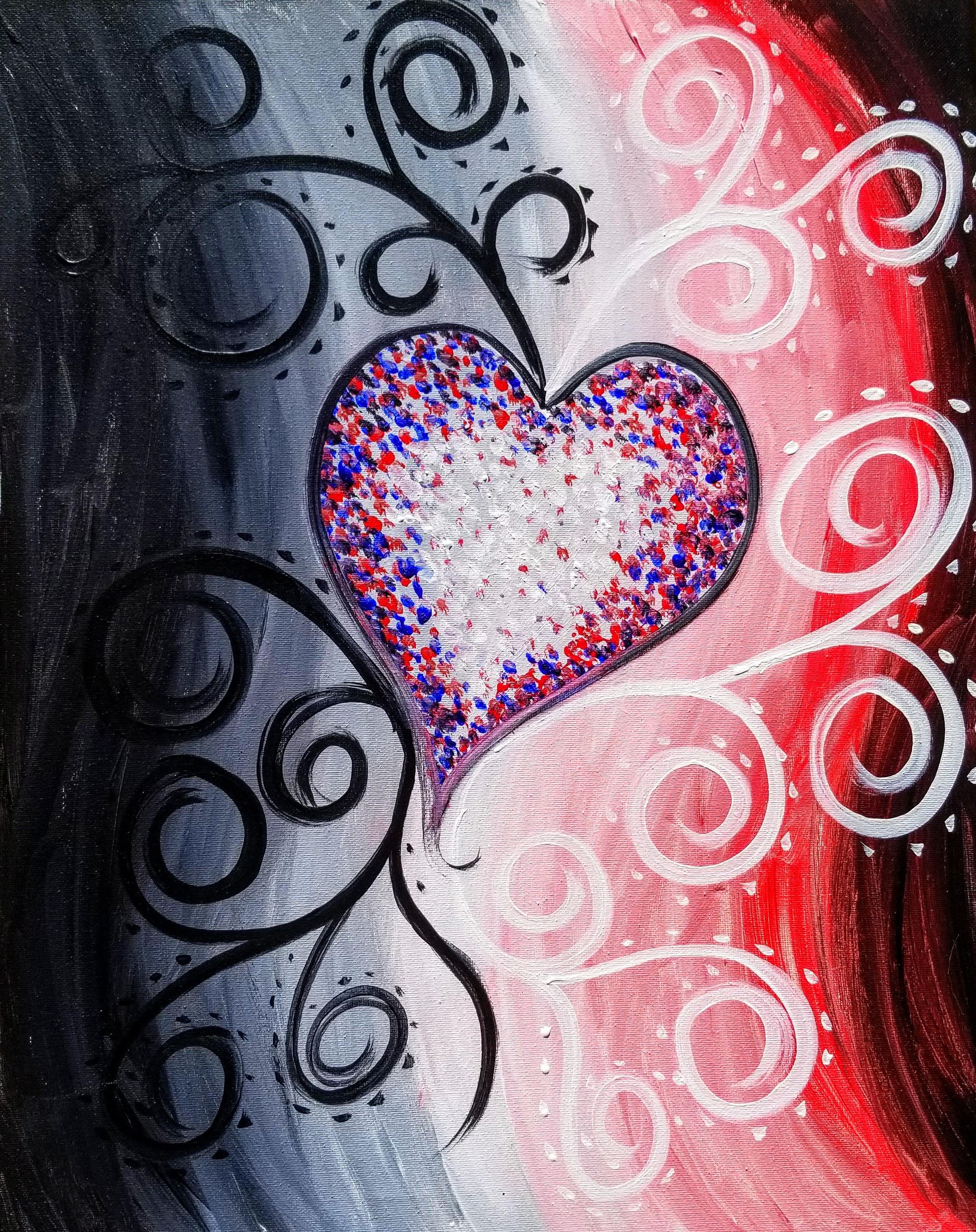 Whimsical Valentine