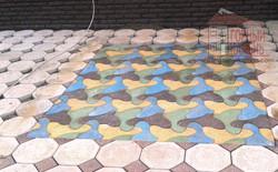 тротуарная плитка  рыбка