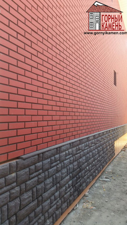 Фасадная панель Атлант из бетона