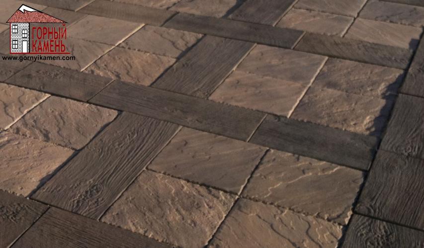 Тротуарная плитка Жартас
