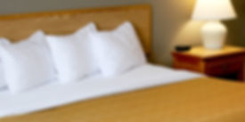 Hotel's King Bed