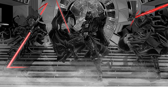 Sith Lords (grey scale)