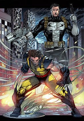 Wolverine & Punisher